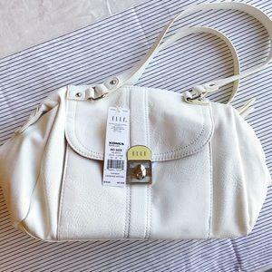 NWT Elle White Shoulder Bag